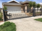 SG30 – Ring and Spear Manual Sliding Gate at Point Cook