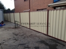 CB4 – Colorbond Fence