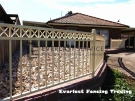 SF38 – Primrose Oxley Cross Steel Fencing Panel