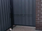SS52 – Black Frame with Woodland Grey Colourbond Side Gate
