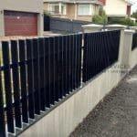 A93 - Aluminium Fencing - Vertical Blade Fencing