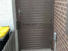 SS76 – Jasper Aluminium Slats Single Gate