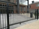 SG50 – Oxley Ring and Spear Sliding Gate Close Up