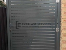 SS77 – Shale Grey Slats Single Gate