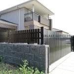 A228 - Vertical Face Welded Slats Gate