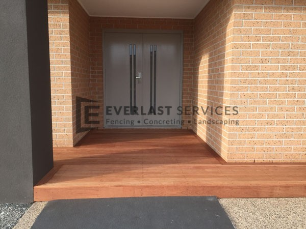 T5 - Front Porch Timber Decking