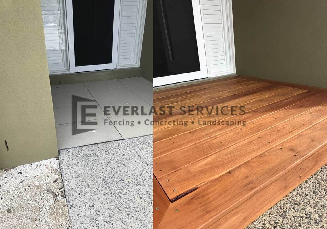 T69 - Decking Before and After