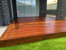 Extended Patio Decking