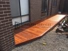 T50 – Timber Decking Side of House