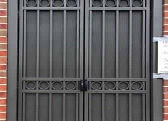 Custom Steel Double Gate Perforated Steel Sheets