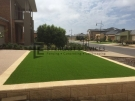 L21 – Versa Wall Retaining Wall wtih Synthetic Grass