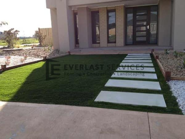 28 - Entrance Paving with Turf
