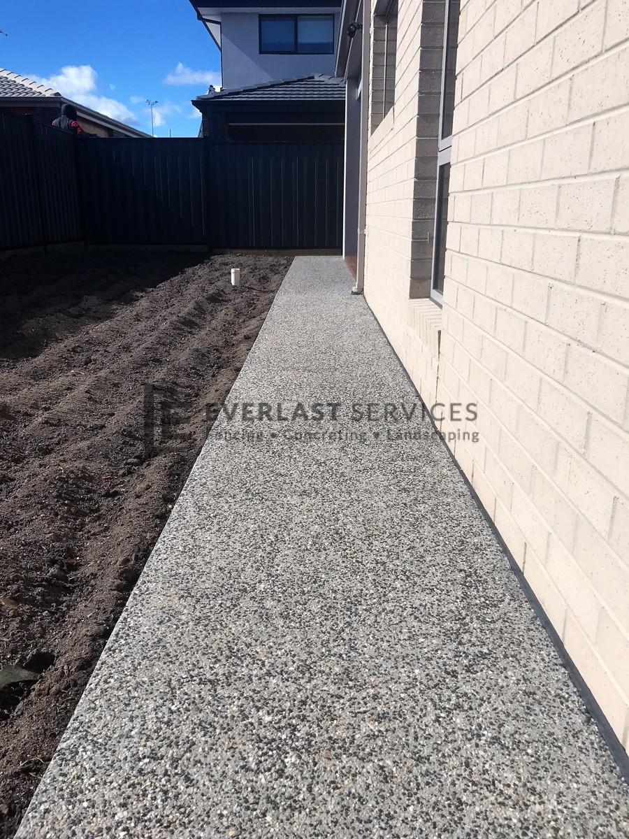 EA50 - Back Aggregate Concreting