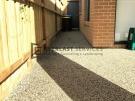 EA42 – Backyard Exposed Aggregate Footpath
