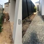EA51 - Before and After of Side Concrete