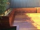 T39 – Raised Merbau Planter Boxes