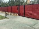DG41 – Jarrah Aluminium Slats Double Gate