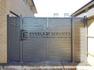 Double Aluminium Slats Side Gate