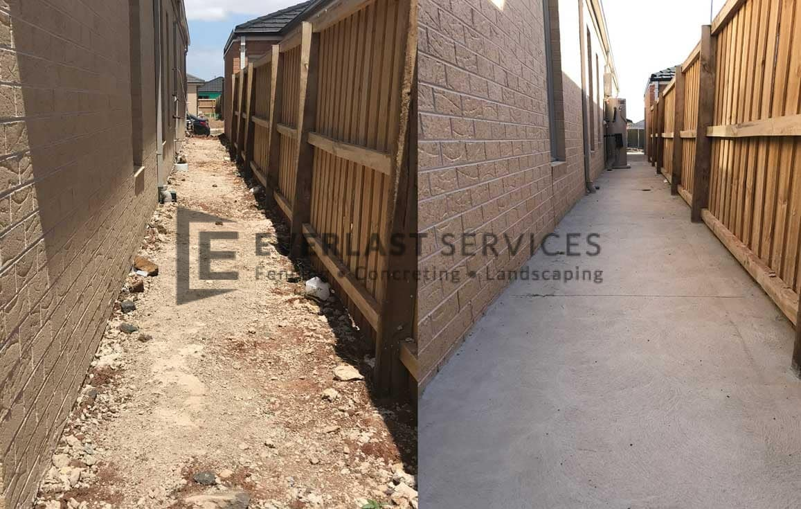 PLC7 - Plain Concrete Before and After
