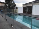 GF11 – Glass Pool Fencing + Swimming Pool + Modular Walls