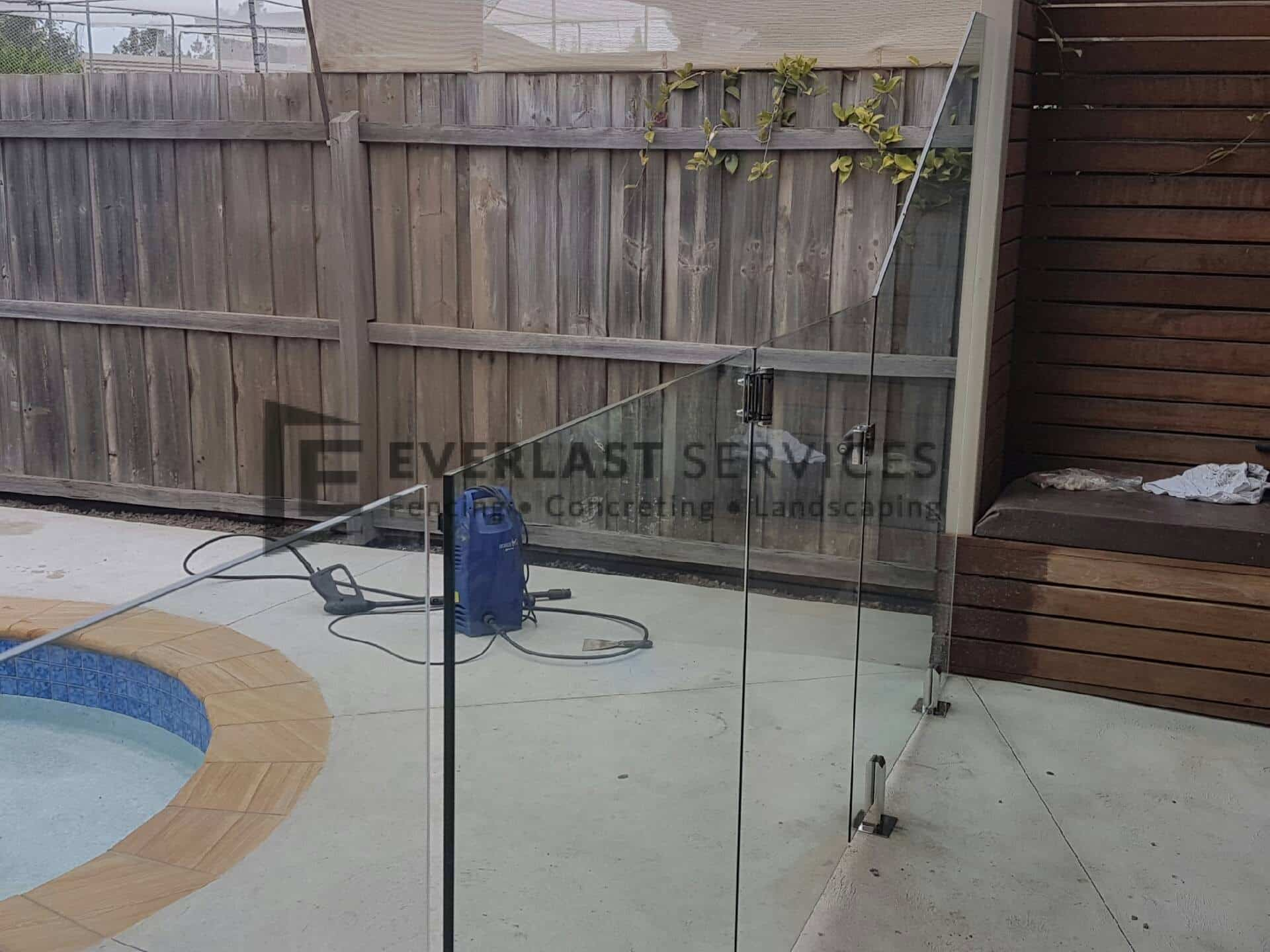 GF1 - Custom Glass Pool Fencing Panel