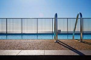 Types of swimming pool fencing explained