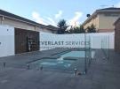 MW7 – Glass Pool Fencing + Swimming Pool + Modular Walls