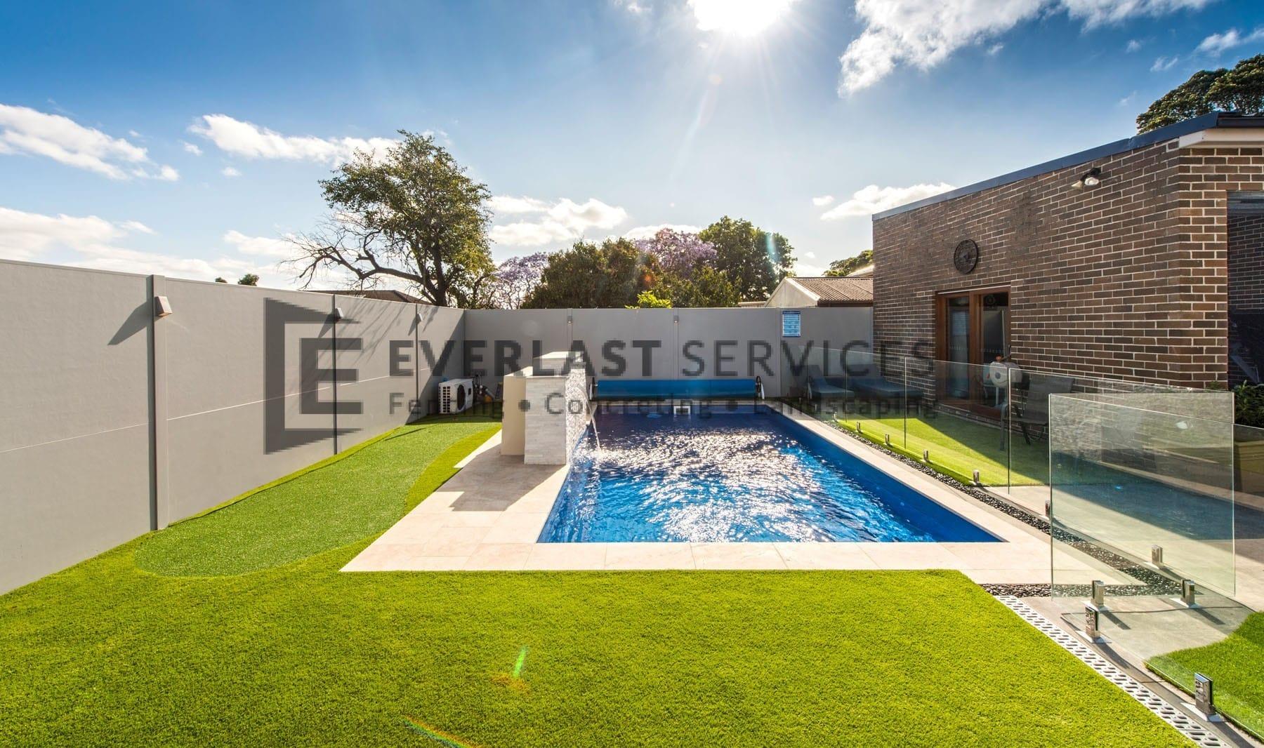 MW 24 - Swimming Pool + Glass Fence + Backyard Fence