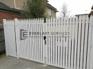 Aluminium-White-Pickets-Double-Gate