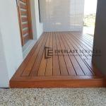 Front Porch Merbau Decking