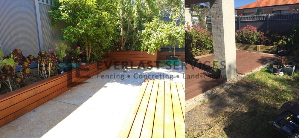 L129 - Back Merbau Garden Box
