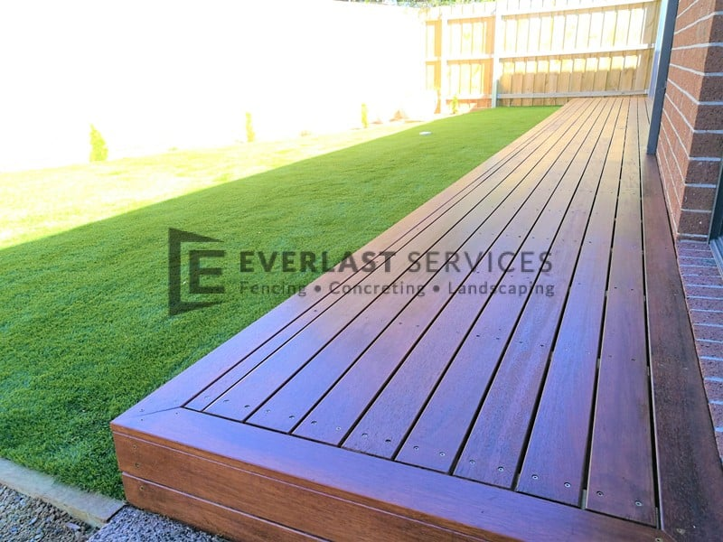 T113 - Close Up Decking Extension