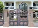 Aluminium Art Decor Front Fence