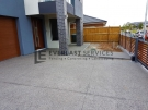 Exposed Aggregate Front Driveway and Path