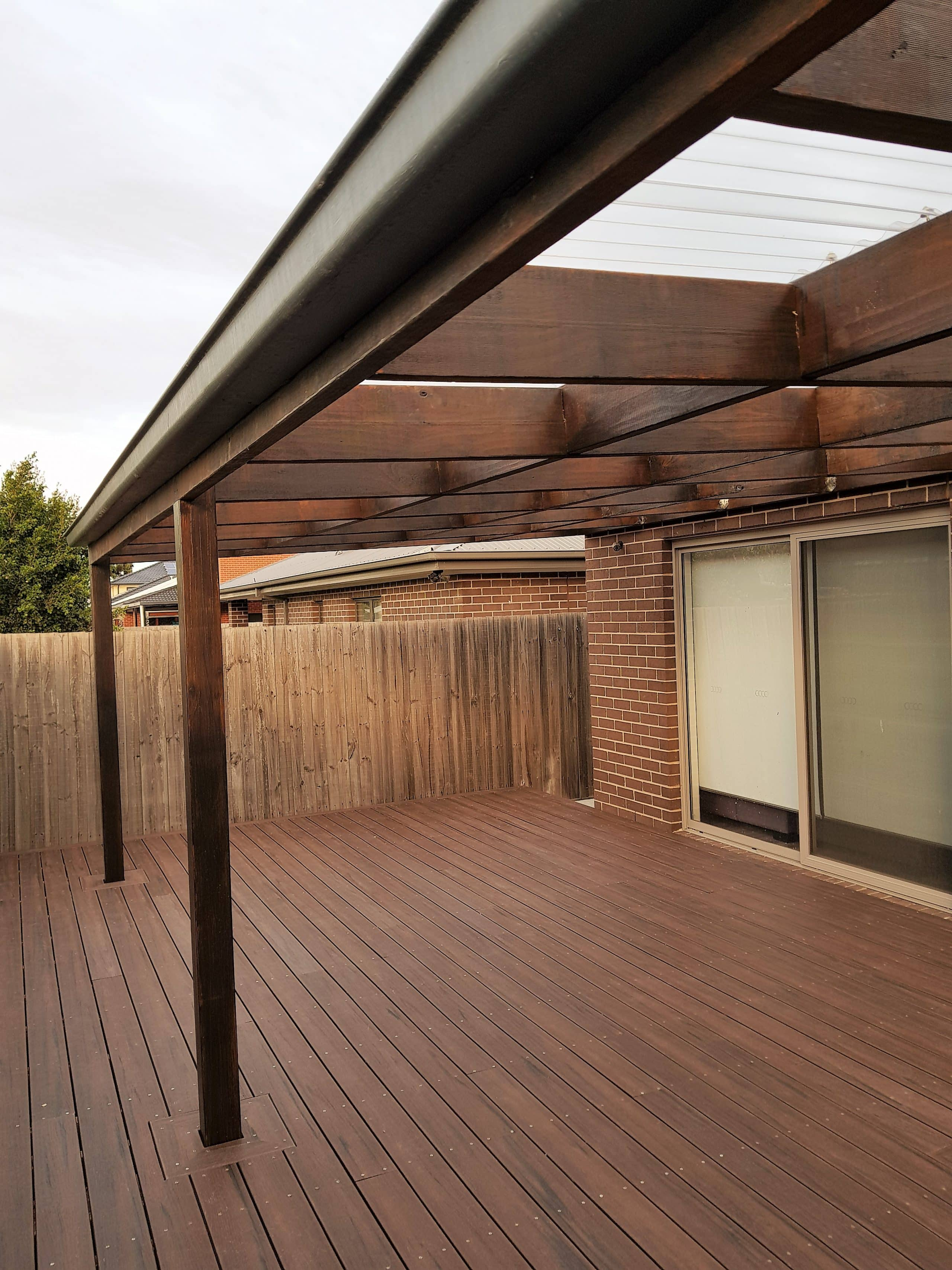 Hardwood Veranda View