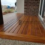 Cumaru Decking Front Porch