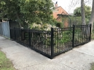Oxley Ring Steel Fencing Corner Angle