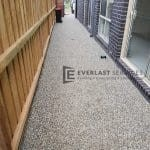 Exposed Aggregate Footpath