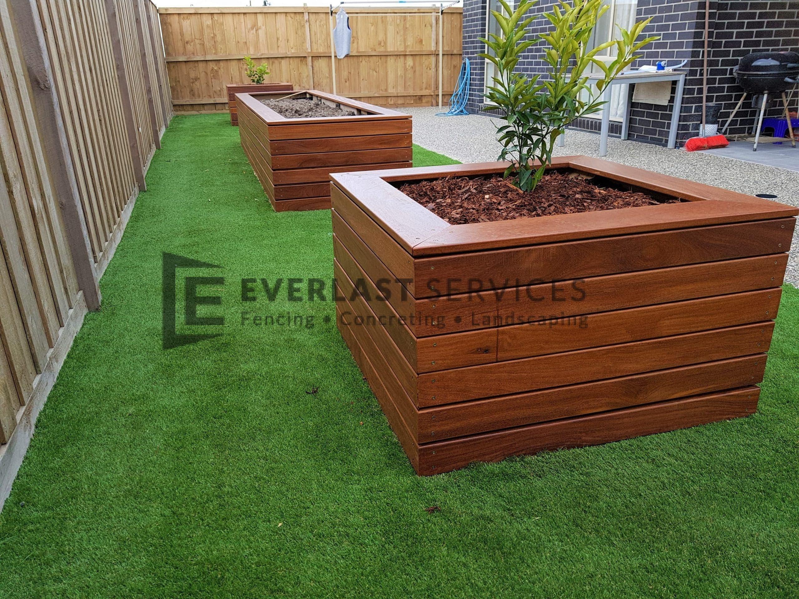 Rear Landscaping Garden