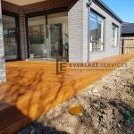 Back Decking and Path