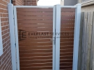Kawila Slats Single Gate with Panel