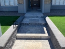 L224 – Travertine Porch + Steps