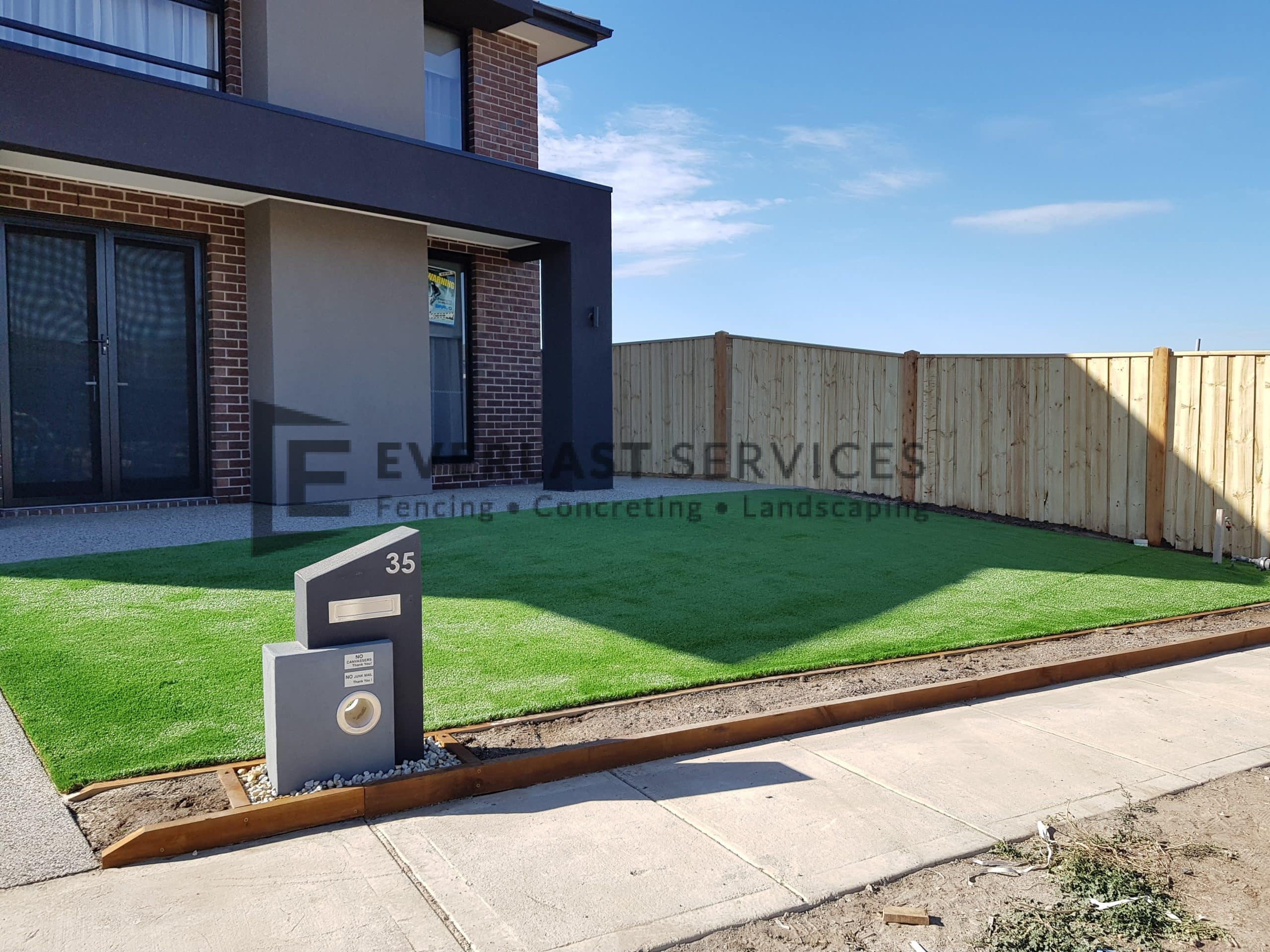 L236 - Front Synthetic Grass Point Cook