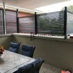 A244 - Louvre Blade Privacy Screen Back
