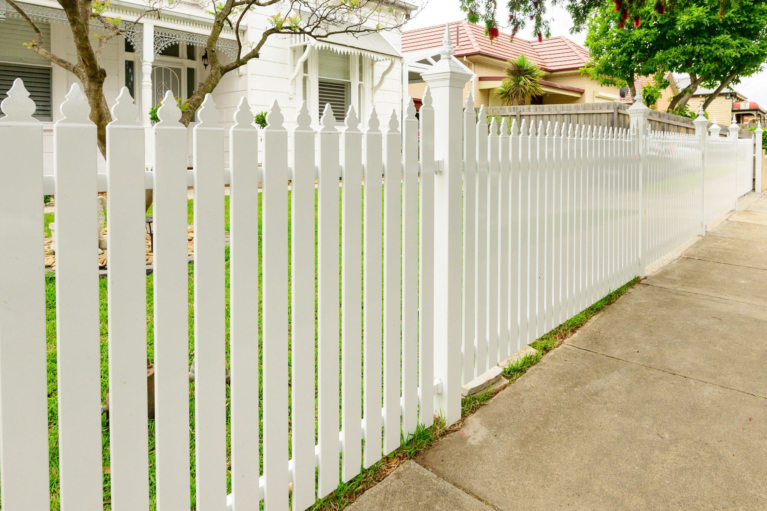 SF183 - Ascot Vale - Picket Fence
