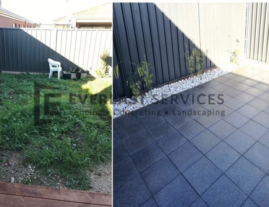L107 - Before After Euro Stone Paving