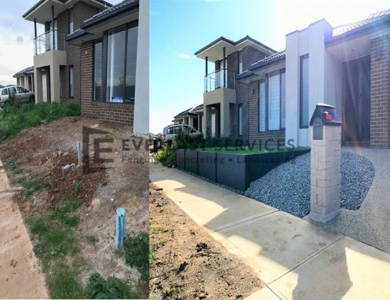 L109 - Landscaping Before and After