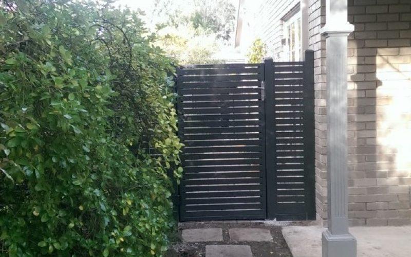 Single side gate