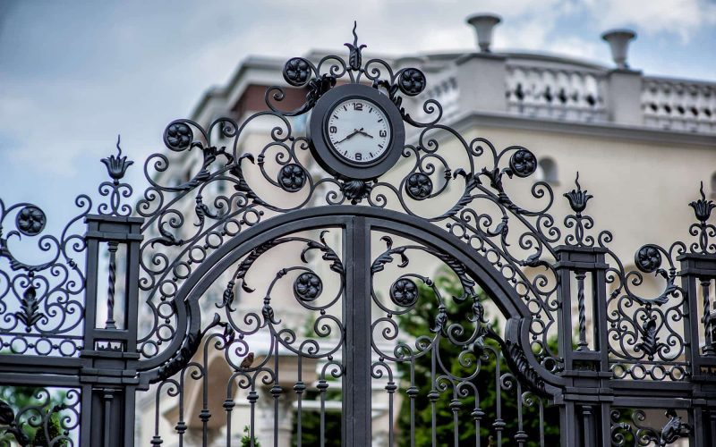 Forged Large Gate